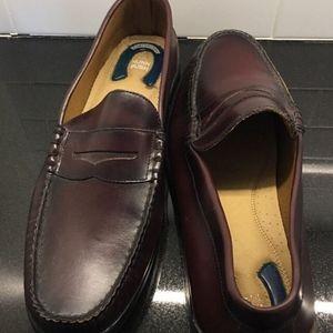 Nunn Bush mens Leather Loafers Shoes Comfort Gel